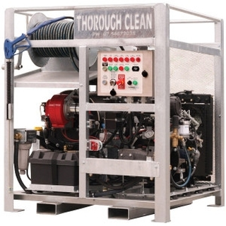ThoroughClean 24 HP Perkins Diesel Driven- Electric Start-Mine Spec